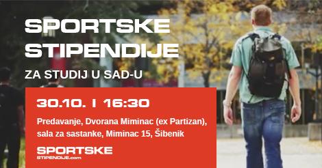 Predavanje za sportske stipendije – Šibenik, 30.10.2015.